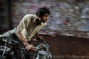 Milkman, Delhi, India