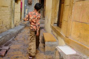 Boy in the Alley, Jaisalmer, India, 2012