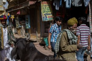 Street scene in Jaisalmer